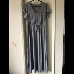 Torrid Grey Maxi Dress Size 0